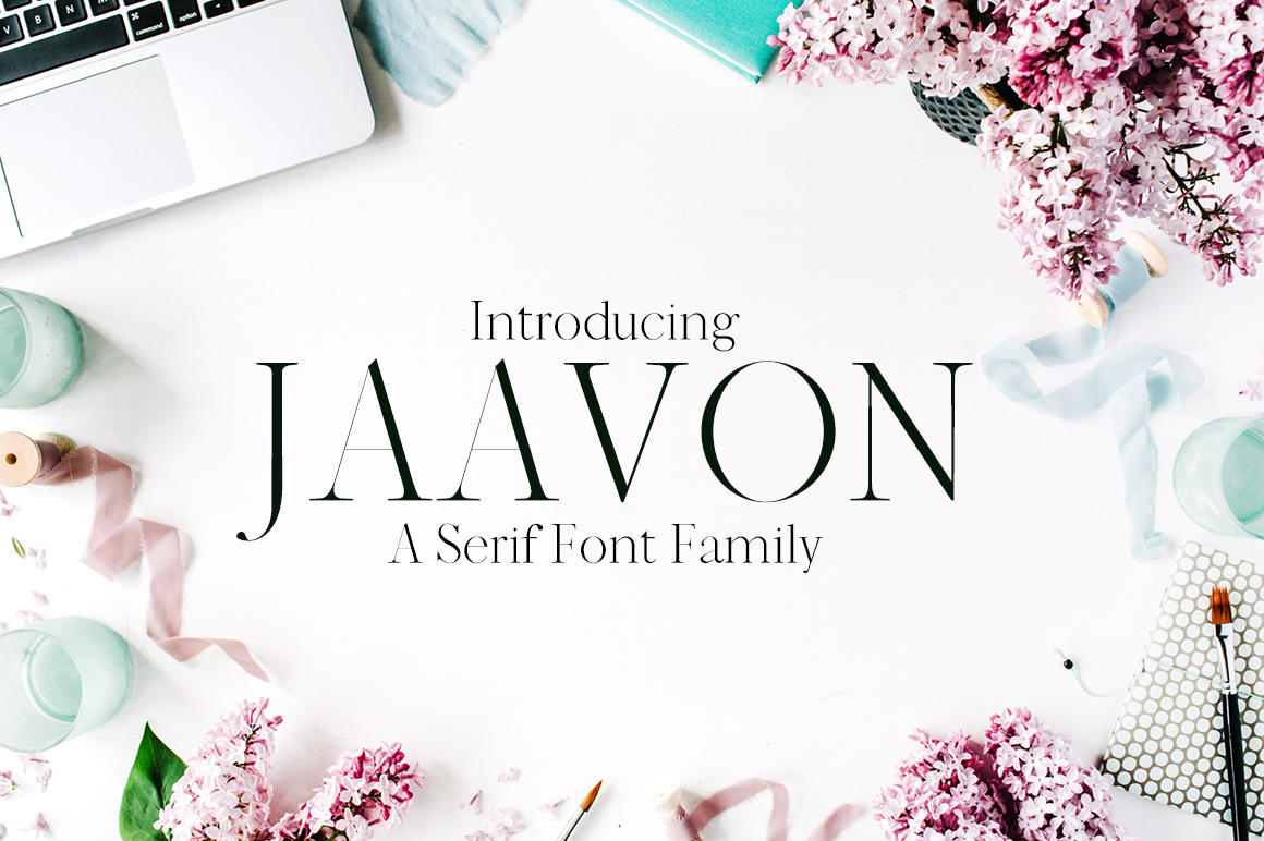 Print on Demand: Jaavon Serif Font By Creative Tacos