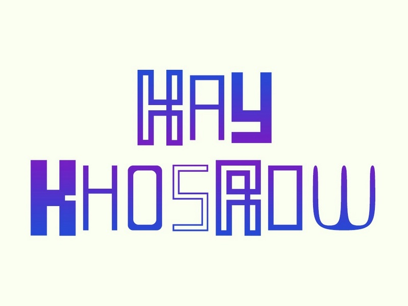 Print on Demand: KayKhosrow Display Font By shahab.siavash