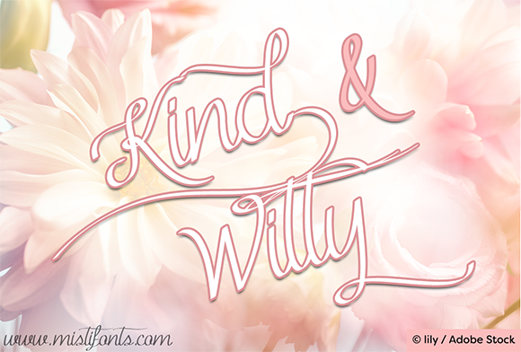 Print on Demand: Kind and Witty Script & Handwritten Font By Misti