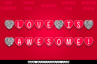 Love is Awesome Font By Misti