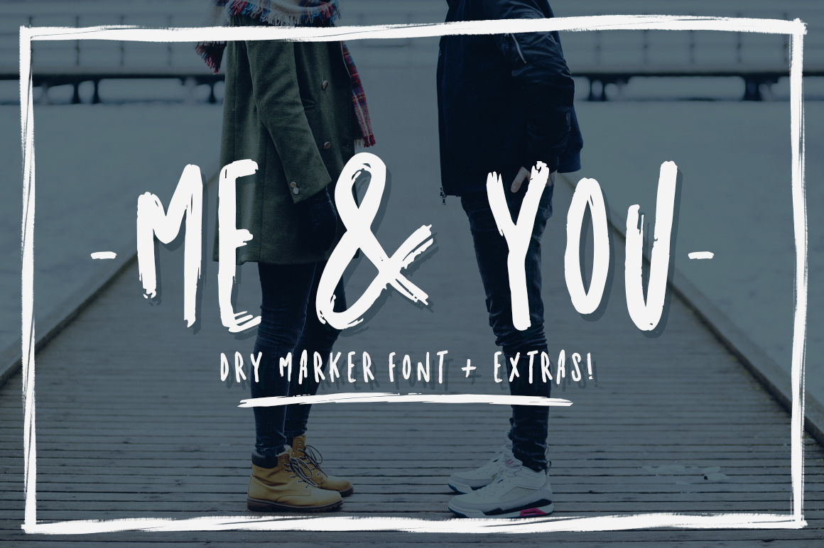 Me and You Font By Latin Vibes
