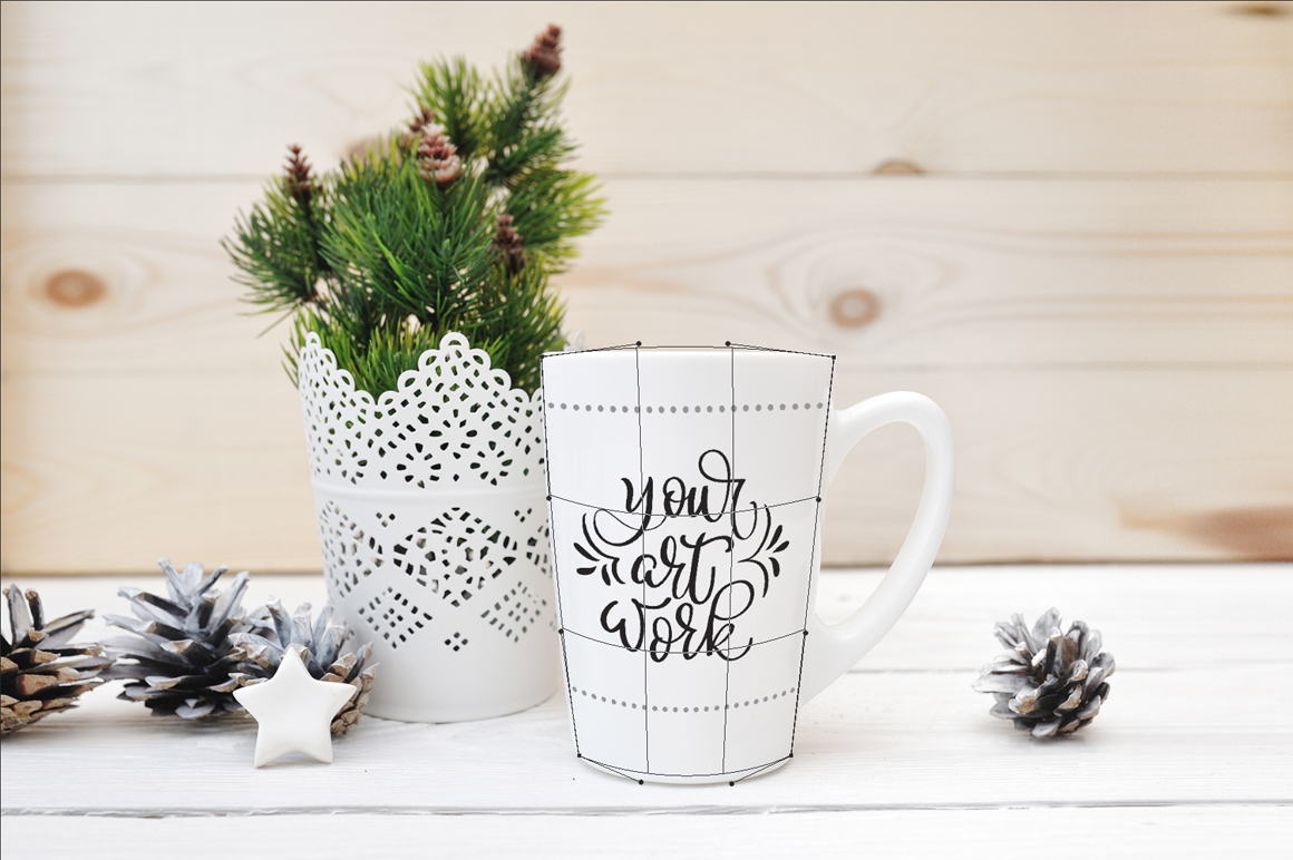 White Winter Mug Mockups Graphic By Happy Letters Image 2