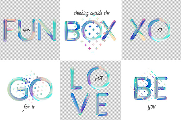 Neon Free PSD Font Graphic Download