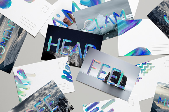 Neon Free PSD Font Graphic Image