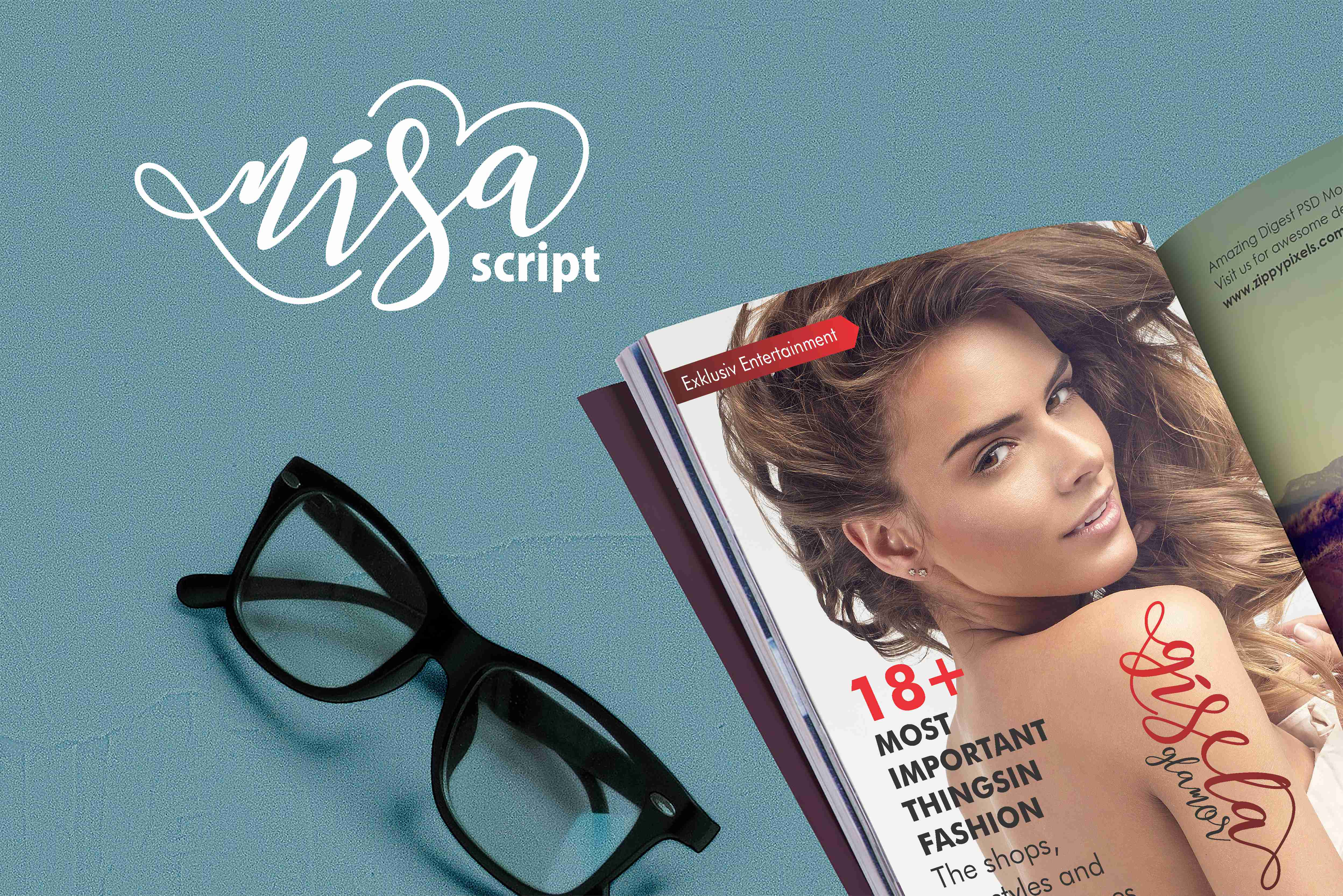 Nisa Font By No Gravity Type Image 8