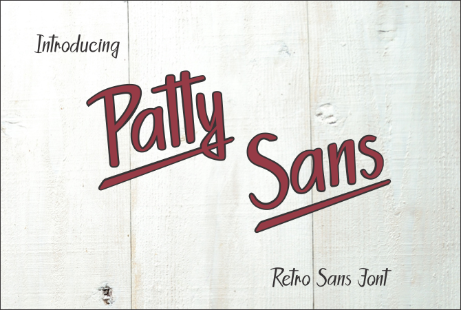 Print on Demand: Patty Sans Script & Handwritten Font By Jaime Rangel Castro