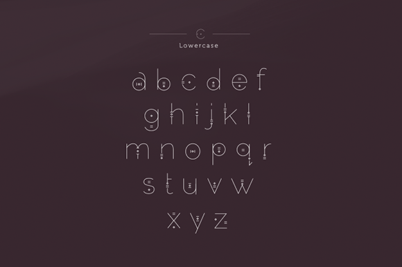 Print on Demand: Persephone Free Font Font By Creative Fabrica Freebies - Image 3
