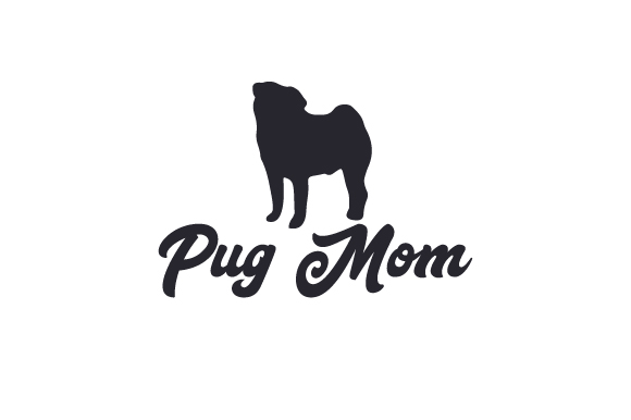 Download Free Pug Mom Svg Cut File By Creative Fabrica Crafts Creative Fabrica for Cricut Explore, Silhouette and other cutting machines.