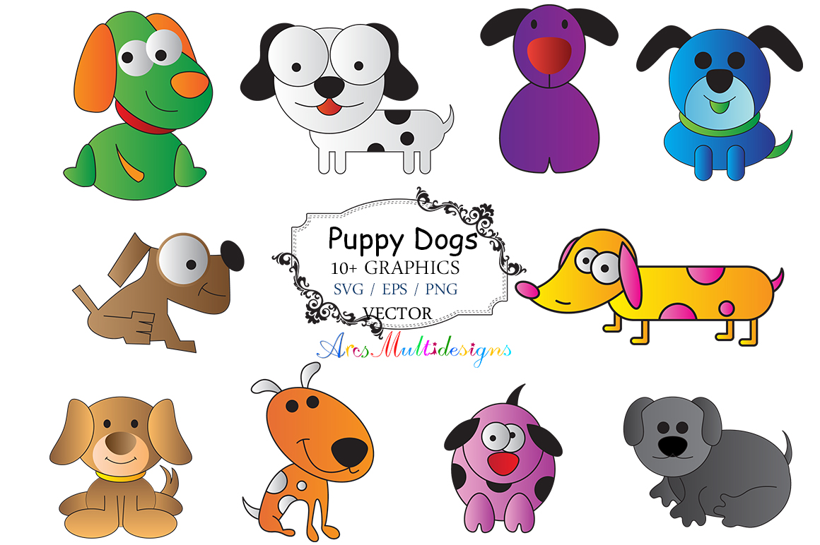 Download Free 21 Puppy Svg Designs Graphics for Cricut Explore, Silhouette and other cutting machines.