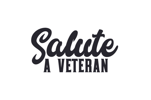 Download Free Salute A Veteran Svg Cut File By Creative Fabrica Crafts for Cricut Explore, Silhouette and other cutting machines.