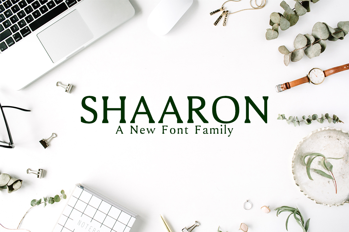 Print on Demand: Shaaron Serif Font By Creative Tacos