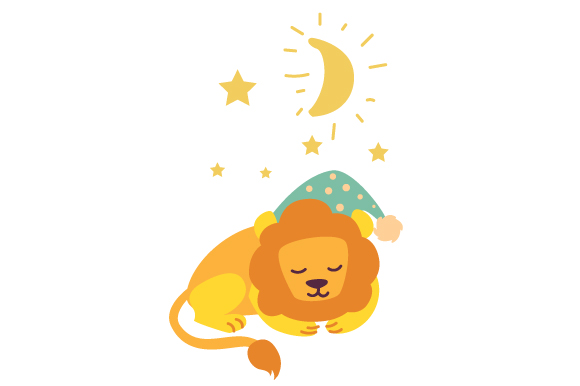 Download Free Sleepy Lion Svg Cut File By Creative Fabrica Crafts Creative for Cricut Explore, Silhouette and other cutting machines.