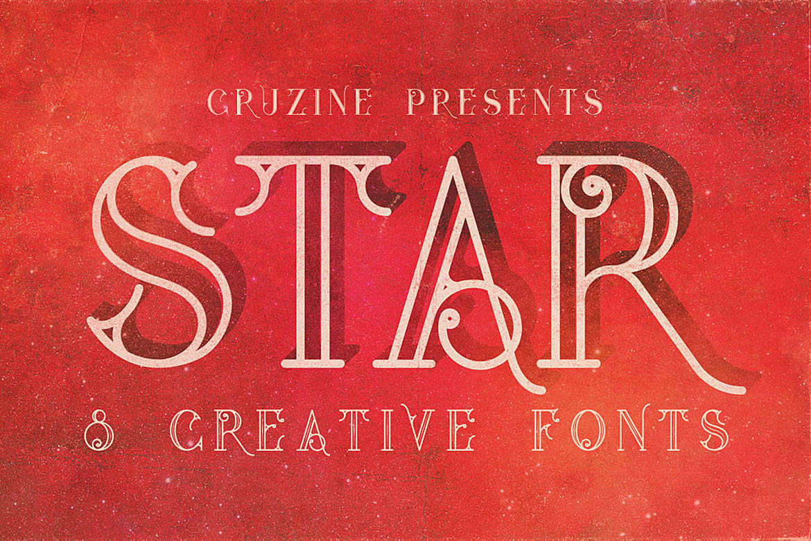 Print on Demand: Star Display Schriftarten von JumboDesign