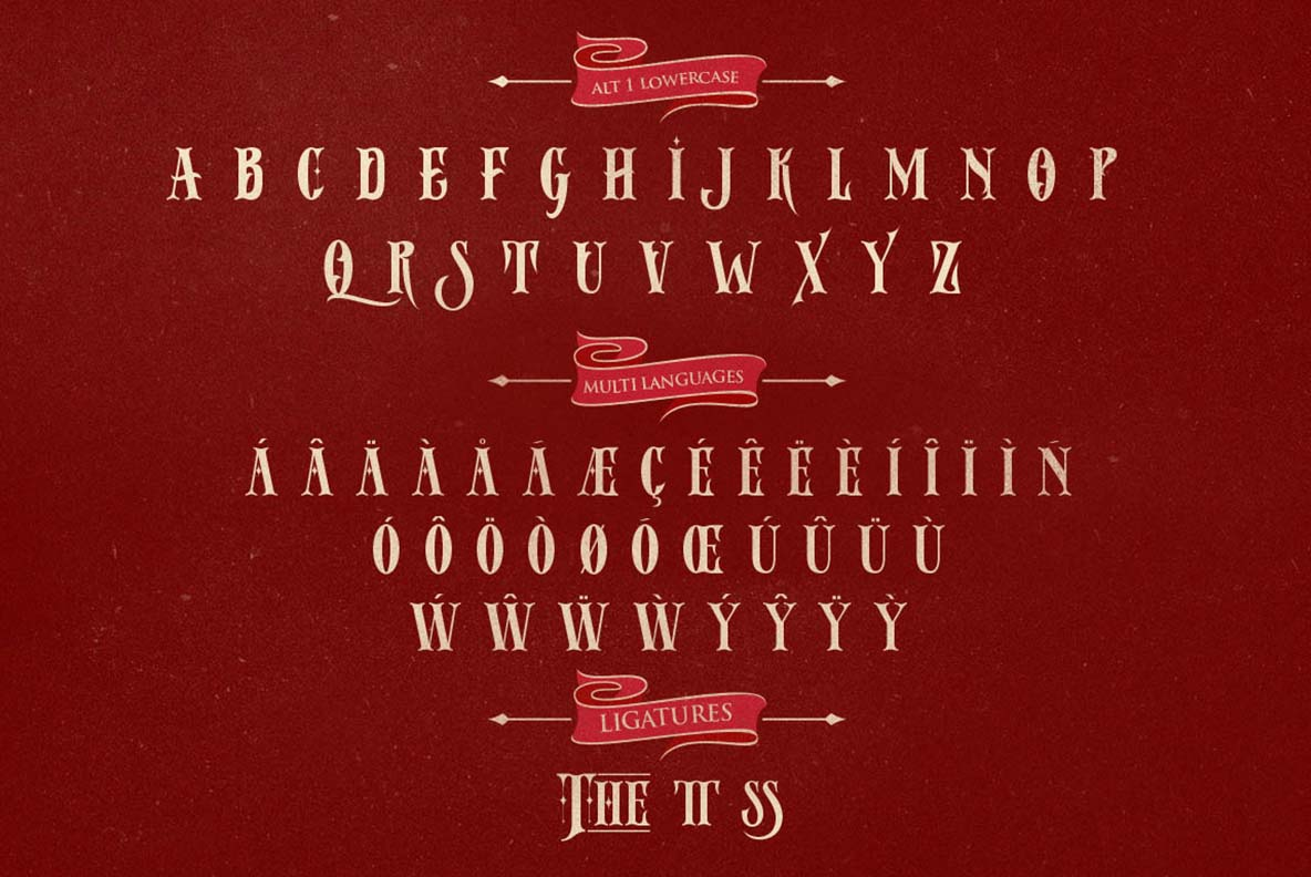 Print on Demand: Stay Alive Display Font By storictype - Image 3