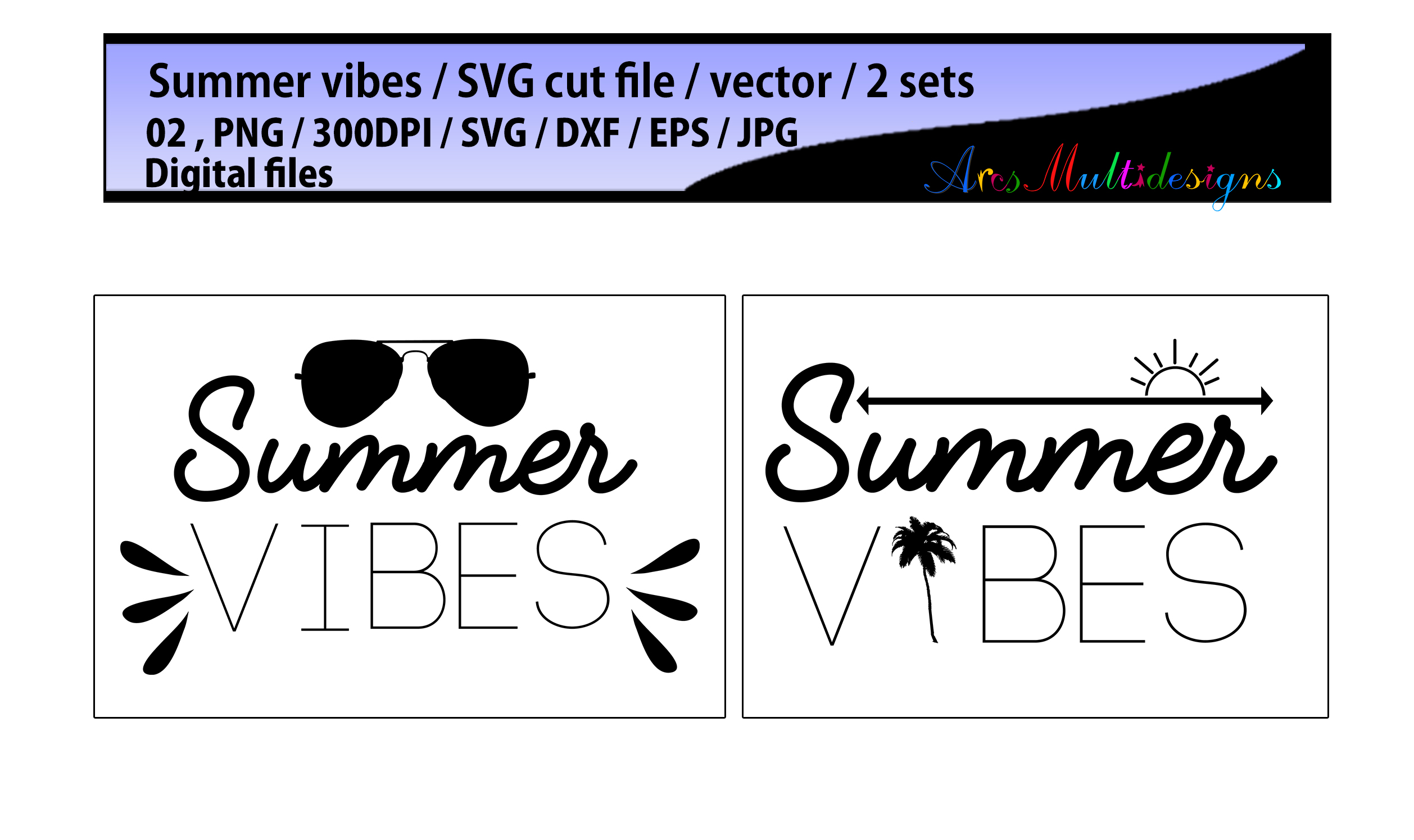 Print on Demand: Summer Vibes Graphic Crafts By Arcs Multidesigns