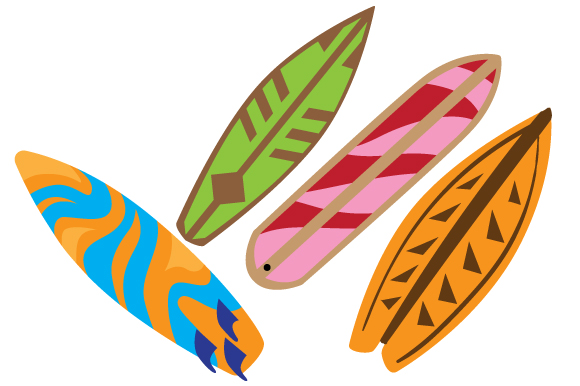 Download Free Surfboards Svg Cut File By Creative Fabrica Crafts Creative for Cricut Explore, Silhouette and other cutting machines.