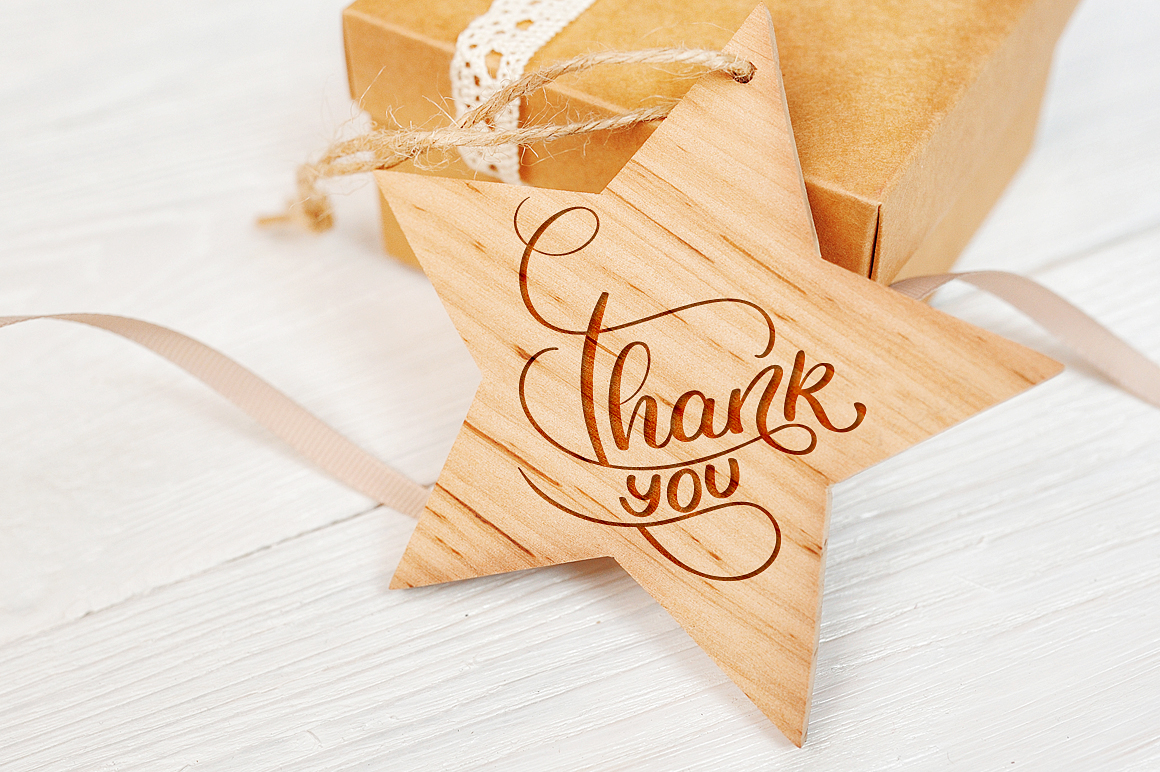 Thank You Calligraphy Lettering Collection Graphic Illustrations By Happy Letters - Image 3