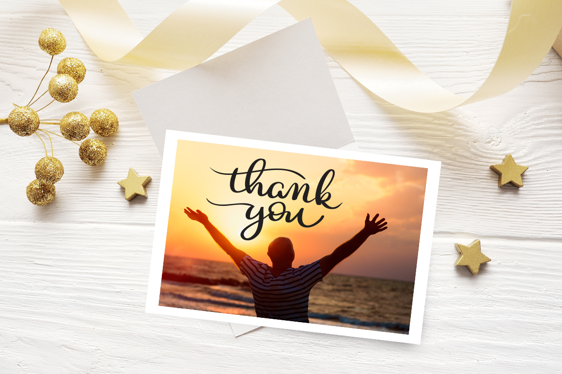 Thank You Calligraphy Lettering Collection Graphic Illustrations By Happy Letters - Image 9