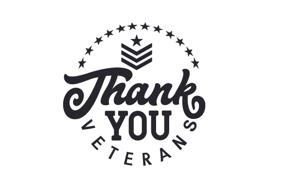 Thank You Veterans Military Craft Cut File By Creative Fabrica Crafts - Image 1