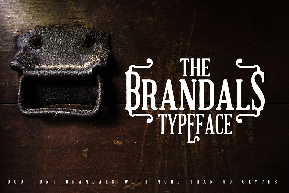 Print on Demand: The Brandals Serif Schriftarten von Greataris