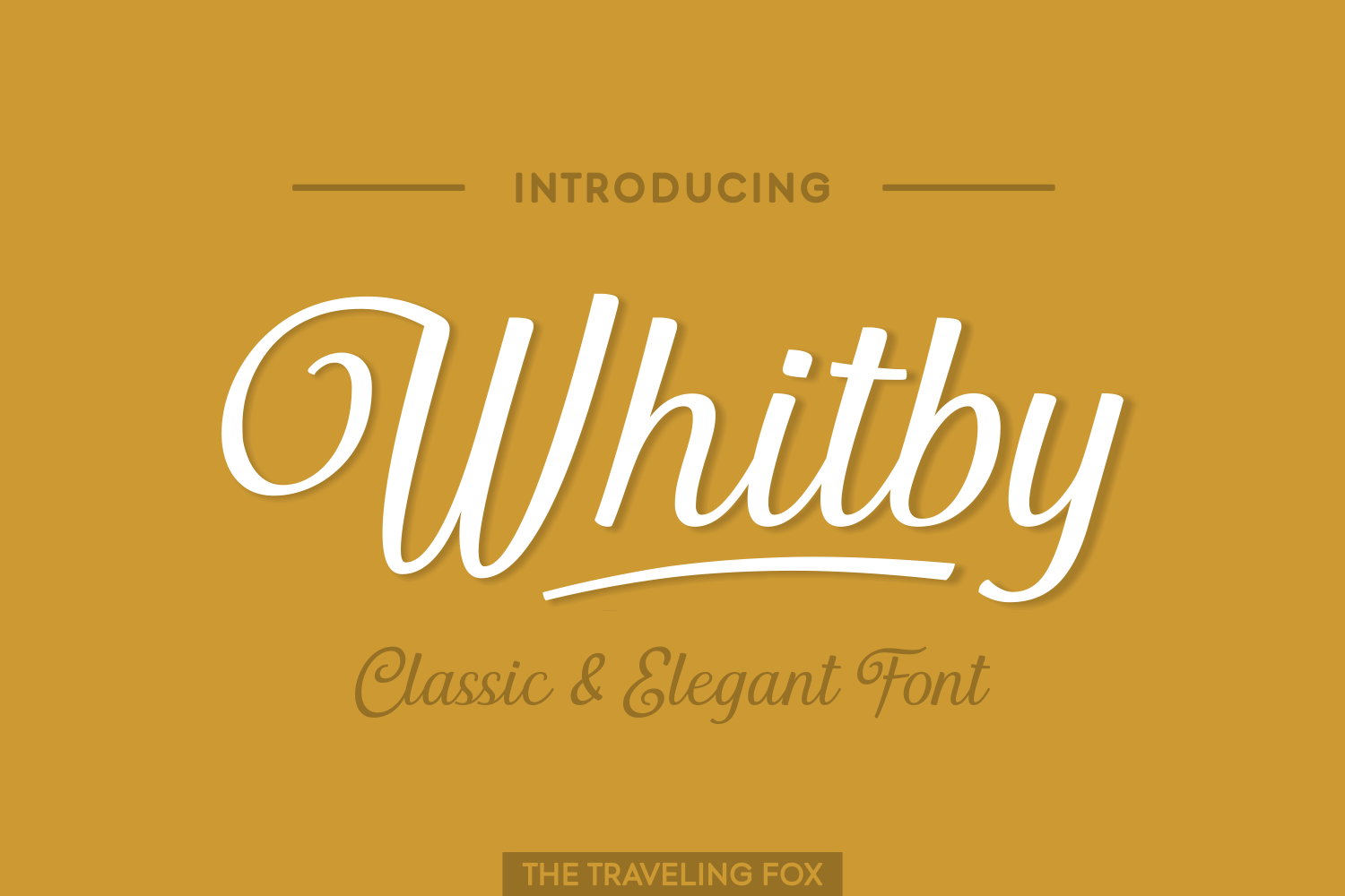 Print on Demand: Whitby Script & Handwritten Font By The Traveling Fox