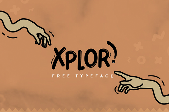 Print on Demand: Xplor Font By Creative Fabrica Freebies
