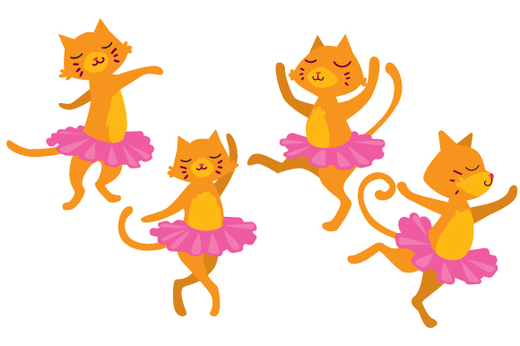 Download Free Cats Wearing A Tutu Svg Cut File By Creative Fabrica Crafts for Cricut Explore, Silhouette and other cutting machines.