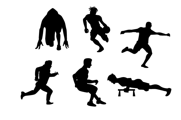 Download Free Active Men Silhouettes Svg Cut File By Creative Fabrica Crafts for Cricut Explore, Silhouette and other cutting machines.