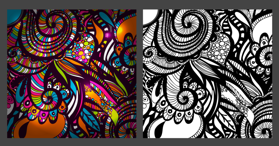 Download Free 2 Zentangle Inspired Patterns Graphic By Alisared87 Creative for Cricut Explore, Silhouette and other cutting machines.