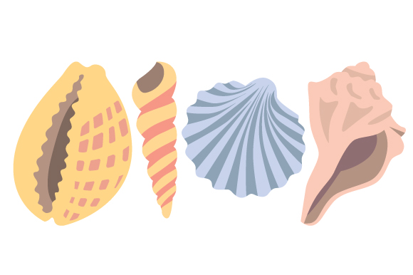 Download Free Sea Shells Svg Cut File By Creative Fabrica Crafts Creative for Cricut Explore, Silhouette and other cutting machines.