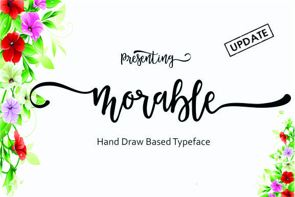 Print on Demand: Morable Script & Handwritten Font By Malindo Creative - Image 1