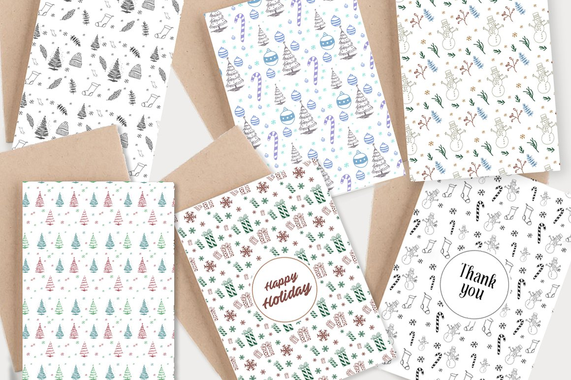 66 Cute Christmas Patterns & Graphic Graphic Illustrations By bloomxxvi - Image 5