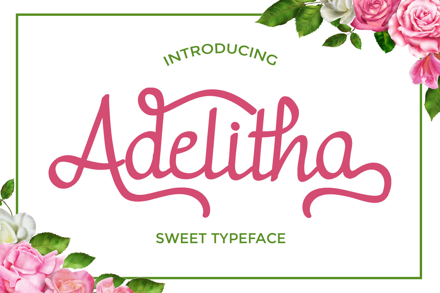 Print on Demand: Adelitha Script & Handwritten Font By josgandos