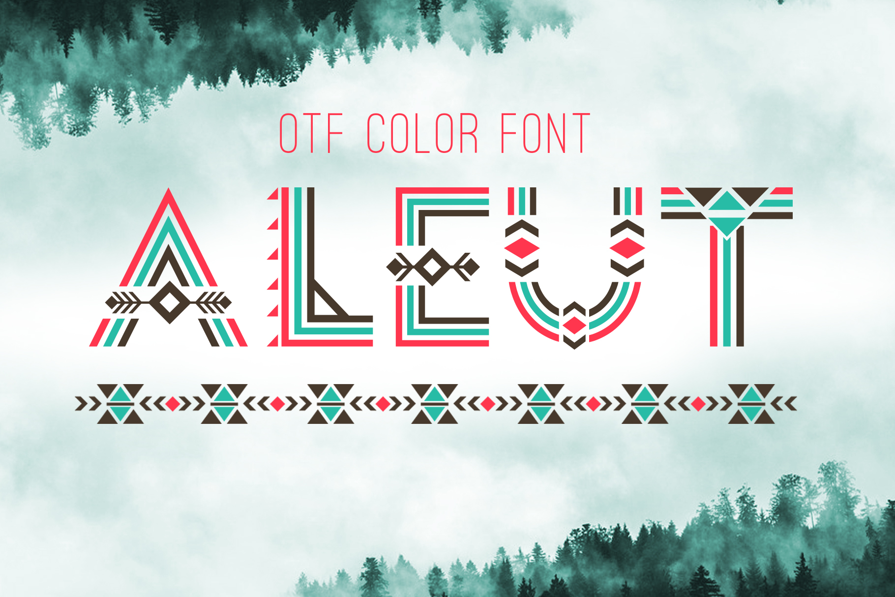 Print on Demand: Aleut Decorative Font By Peliken