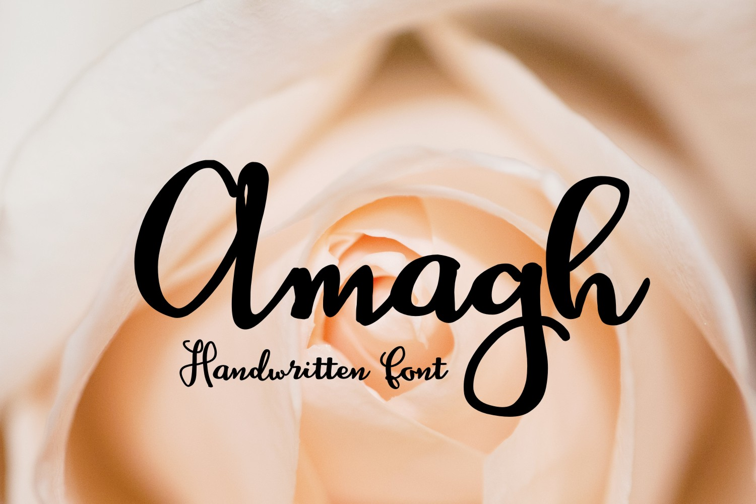 Print on Demand: Amagh Script & Handwritten Font By Eva Barabasne Olasz - Image 2