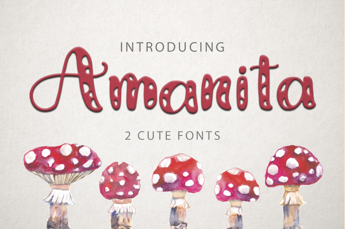 Amanita Font By Red Ink