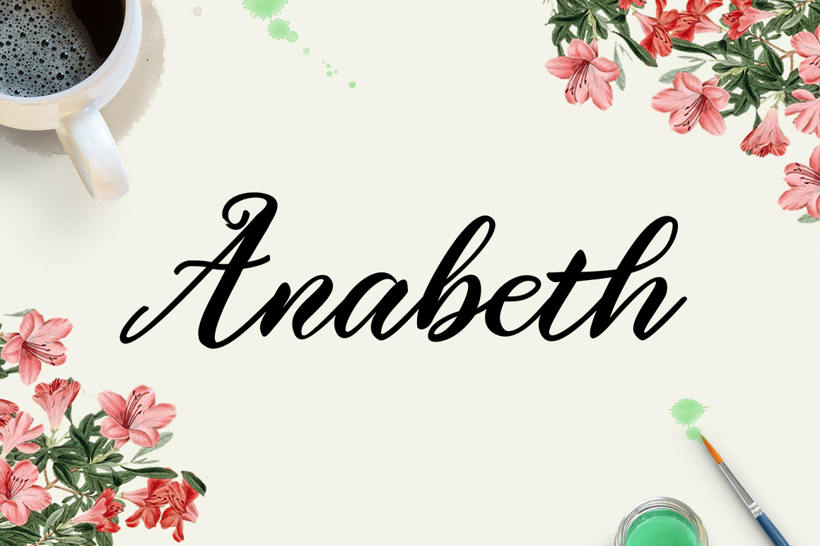 Print on Demand: Anabeth Script & Handwritten Font By No Gravity Type