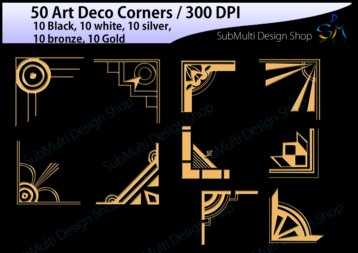 Print on Demand: Art Deco Graphic Crafts By Arcs Multidesigns