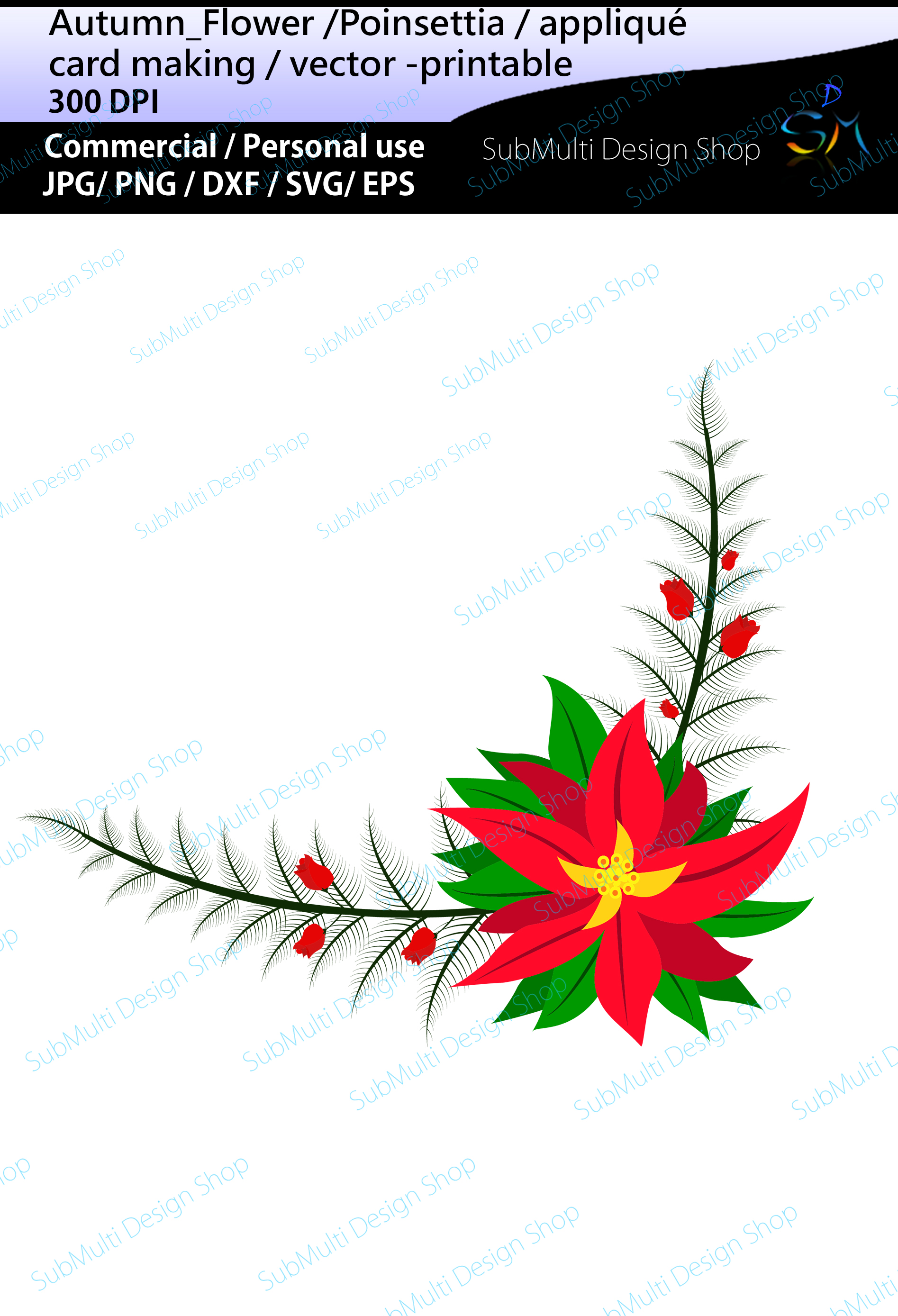 Download Free Autumn Flowers Clip Art Graphic By Arcs Multidesigns Creative SVG Cut Files