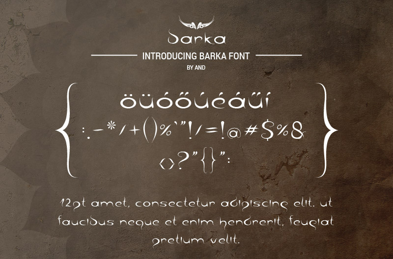 Print on Demand: Barka Script & Handwritten Font By andesign - Image 3