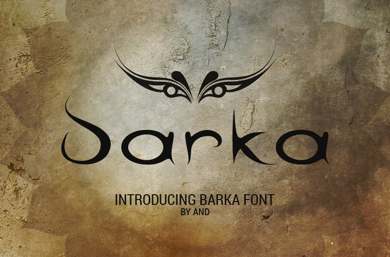 Print on Demand: Barka Script & Handwritten Font By andesign - Image 1