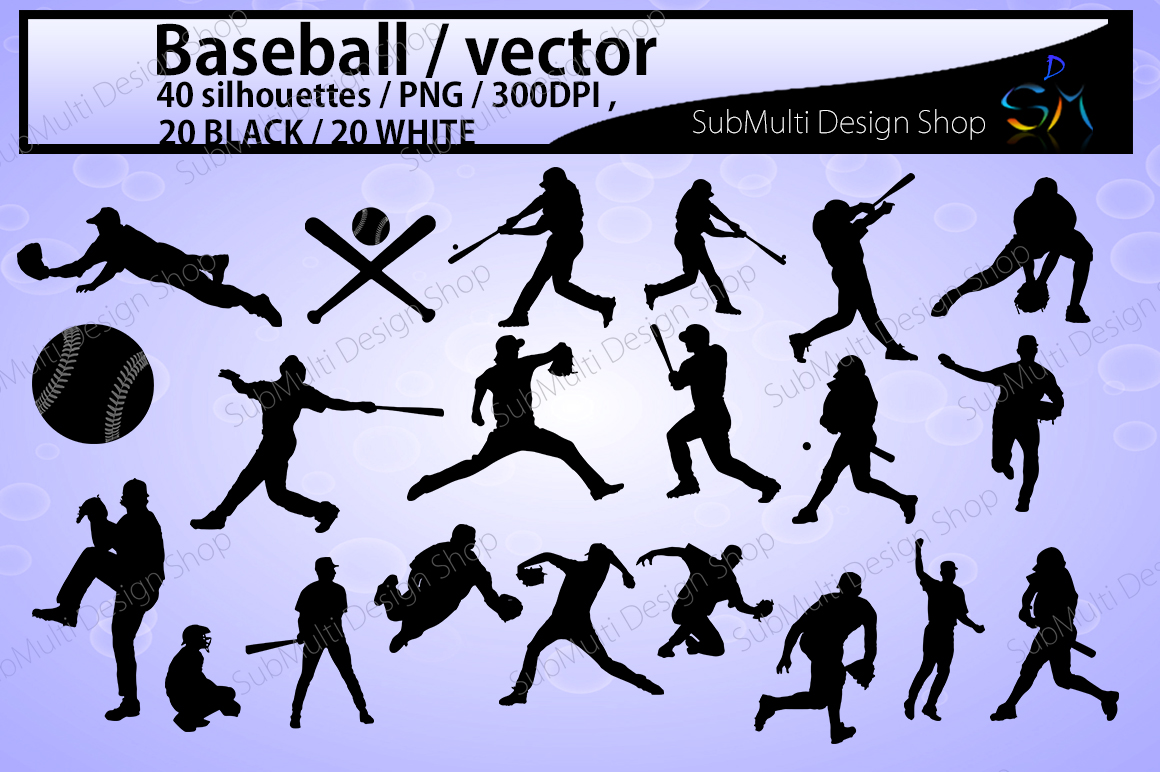 Download Free Baseball Graphic By Arcs Multidesigns Creative Fabrica for Cricut Explore, Silhouette and other cutting machines.