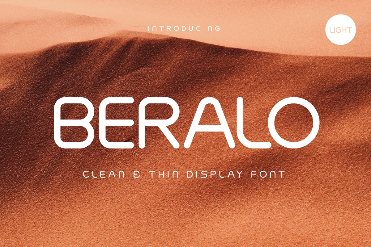 Print on Demand: Beralo Light Display Fuente Por Type Holic