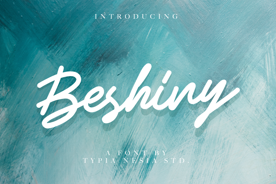 Print on Demand: Beshiny Script & Handwritten Font By Typia Nesia