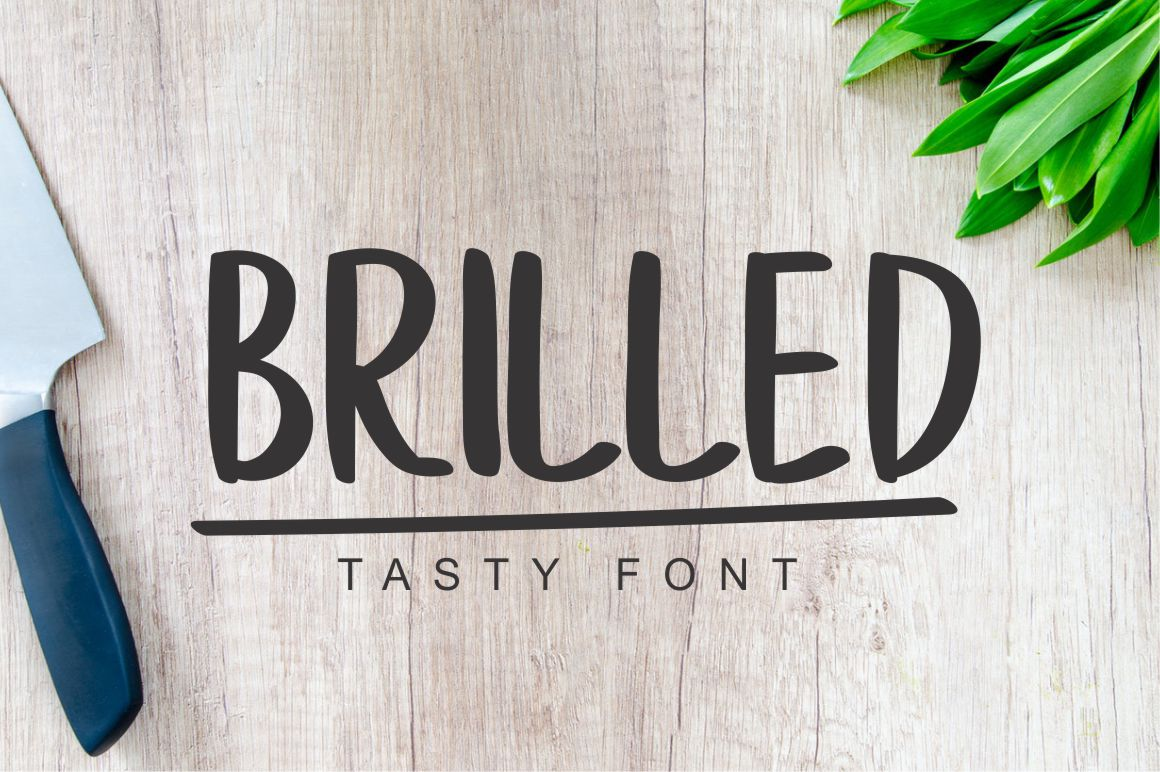 Brilled Script & Handwritten Font By No Gravity Type