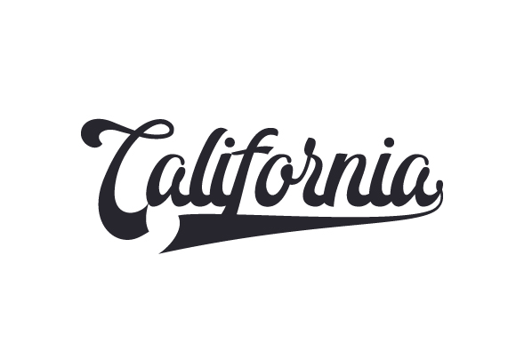 California Word Art Craft Cut File By Creative Fabrica Crafts - Image 1