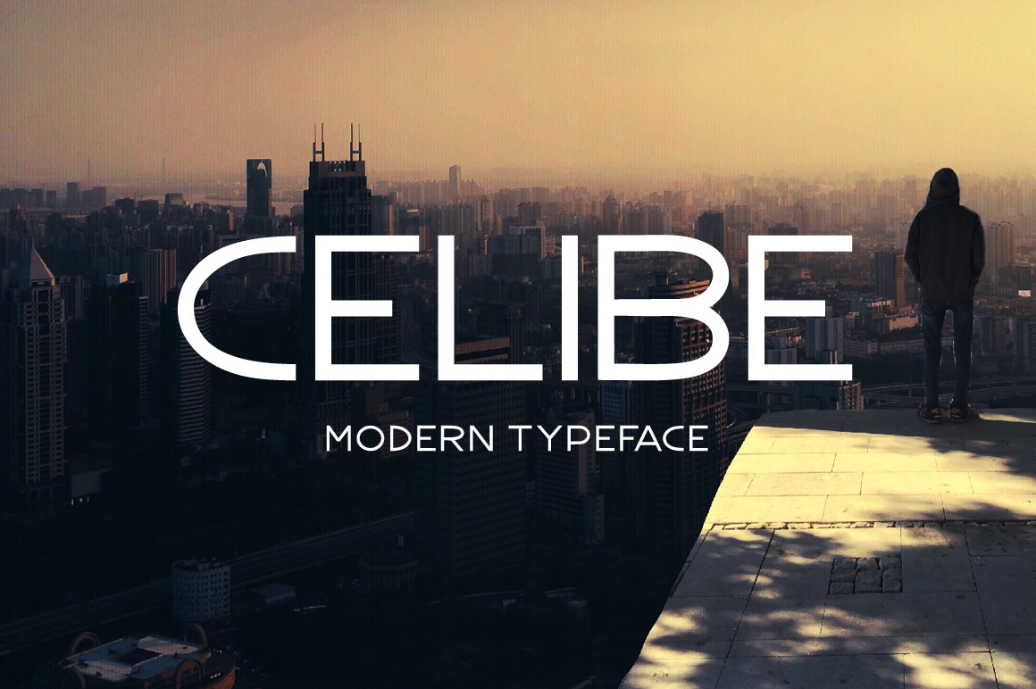 Print on Demand: Celibe Display Font By Contour Fonts