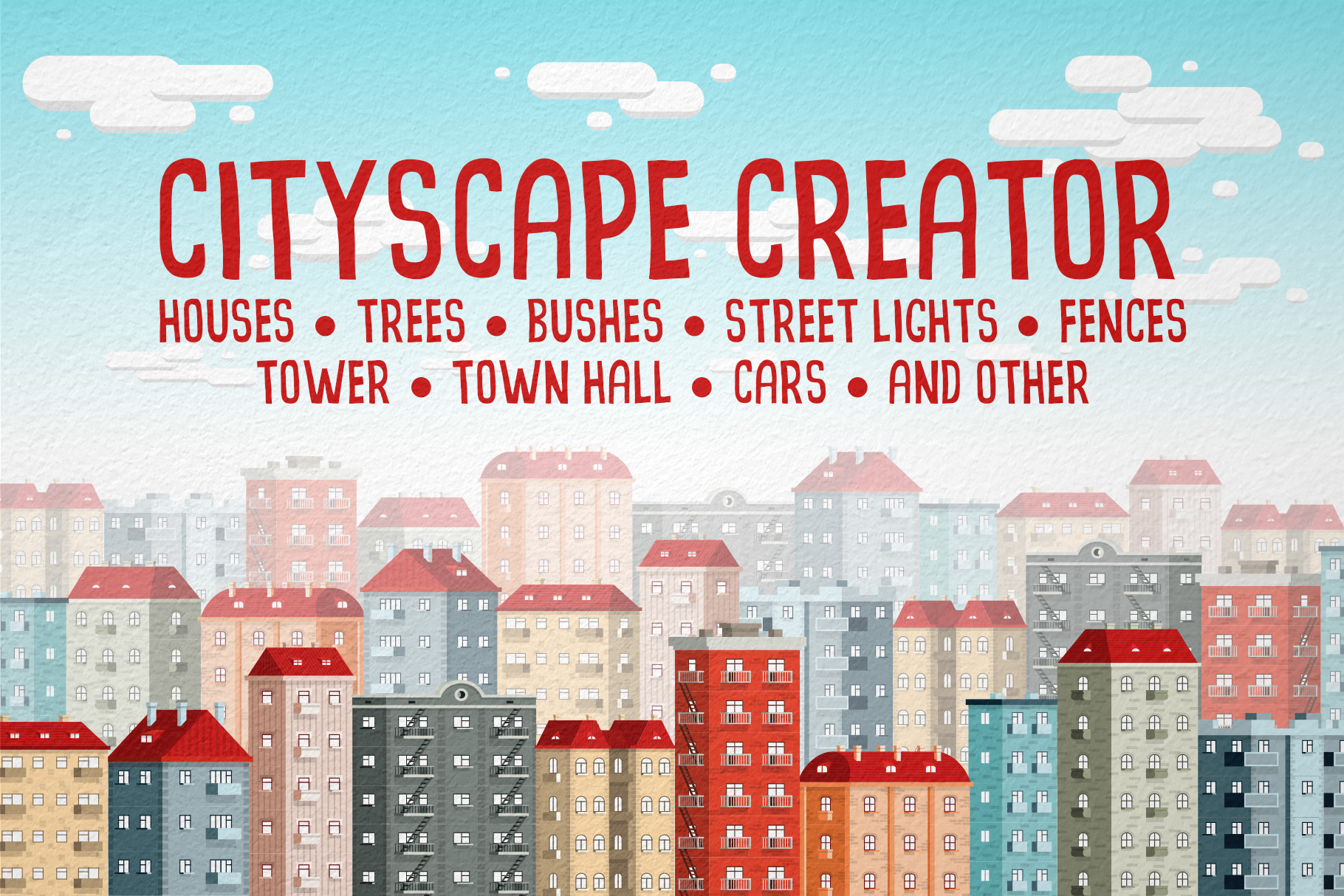 Cityscape Creator Graphic By Agor2012