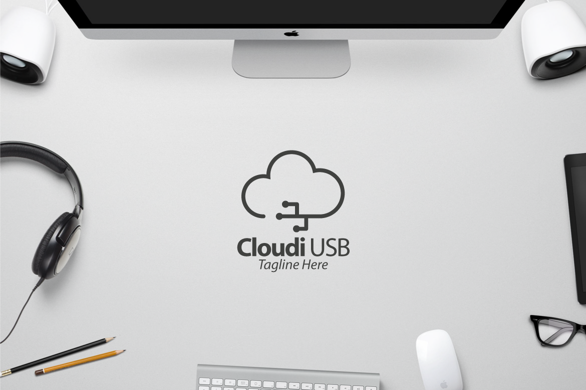 Cloud Usb Graphic Logos By yip87