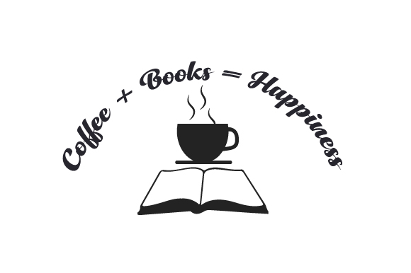 Download Free Coffee Books Happiness Svg Cut File By Creative Fabrica for Cricut Explore, Silhouette and other cutting machines.